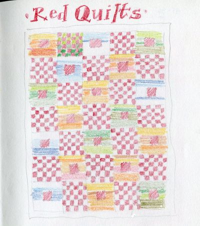 Red quilts one