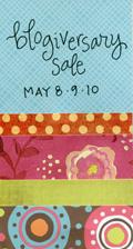 Blogiversary sale