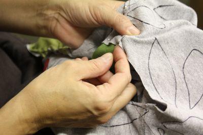 Stitching hands 1