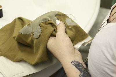 Stitching hands 2