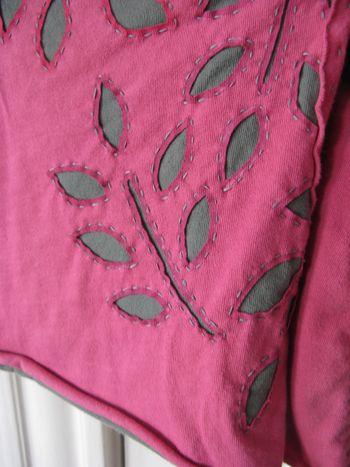 Pink wrap detail