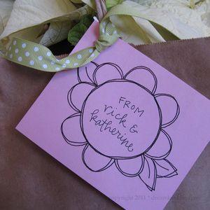 Flower tag 1