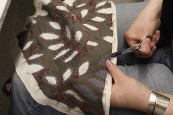 Stitching hands 4