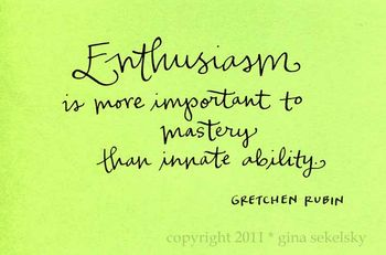 Enthusiasm blog size