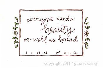 Beauty blog size