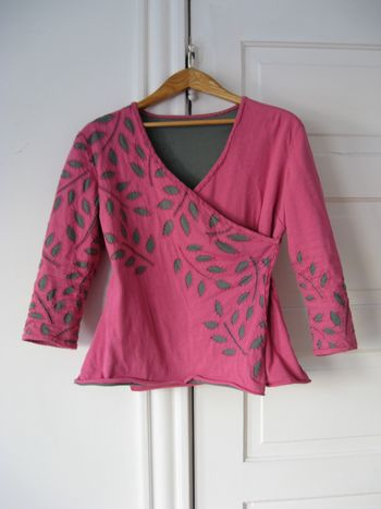 Pink wrap