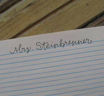 Teacher name 1