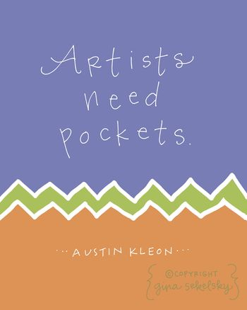 Austin kleon with copyright