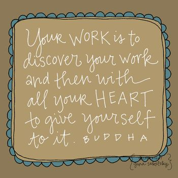 Buddha quote by gina sekelsky at lettergirl
