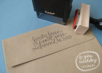 Mirabel address stamp by lettergirl on etsy 02