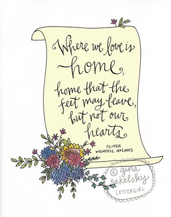 Home art print by gina sekelsky at lettergirl 01