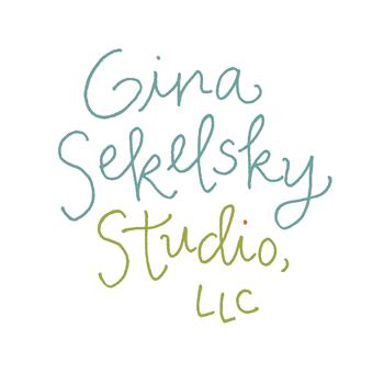 Gina sekelsky studio logo blog size