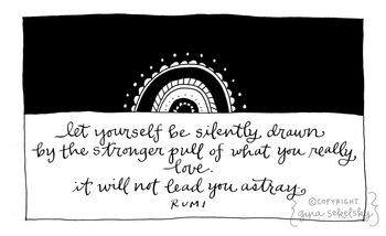Rumi quote by lettergirl
