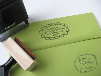 Hannah address stamp by lettergirl on etsy 02