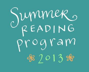 Summer reading program 2013