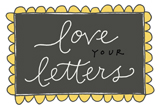 Love your letters color 2 160