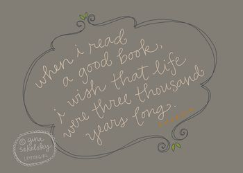 Emerson quote by gina sekelsky at lettergirl on etsy